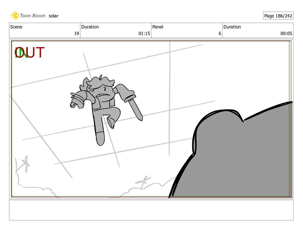 Scene 19 Duration 01:15 Panel 6 Duration 00:05 ...