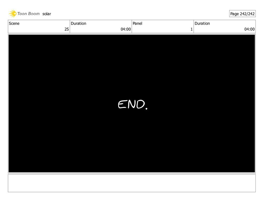 Scene 25 Duration 04:00 Panel 1 Duration 04:00 ...