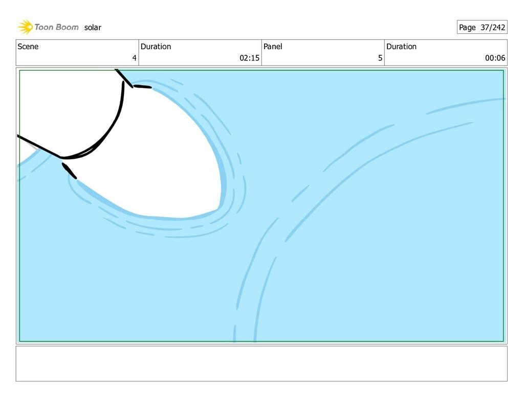 Scene 4 Duration 02:15 Panel 5 Duration 00:06 s...