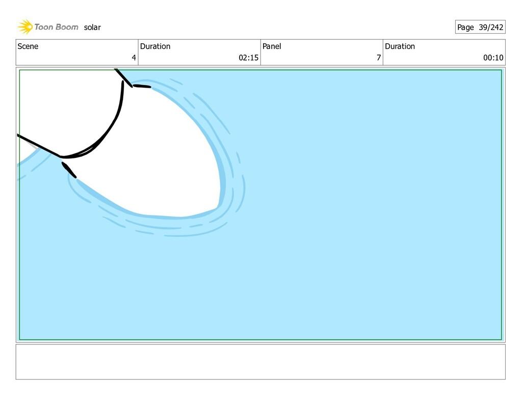 Scene 4 Duration 02:15 Panel 7 Duration 00:10 s...
