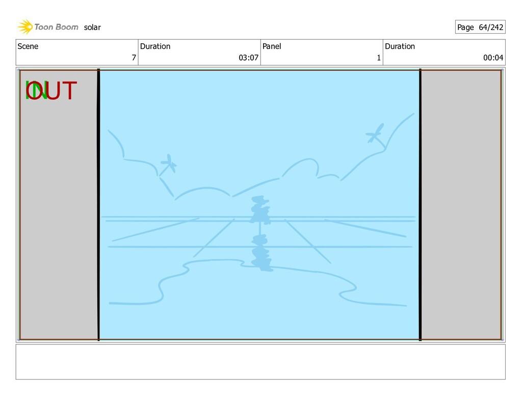 Scene 7 Duration 03:07 Panel 1 Duration 00:04 s...