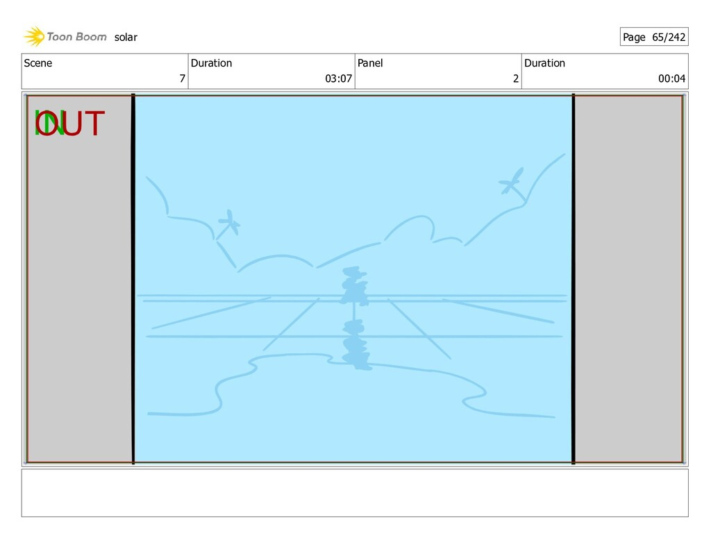 Scene 7 Duration 03:07 Panel 2 Duration 00:04 s...