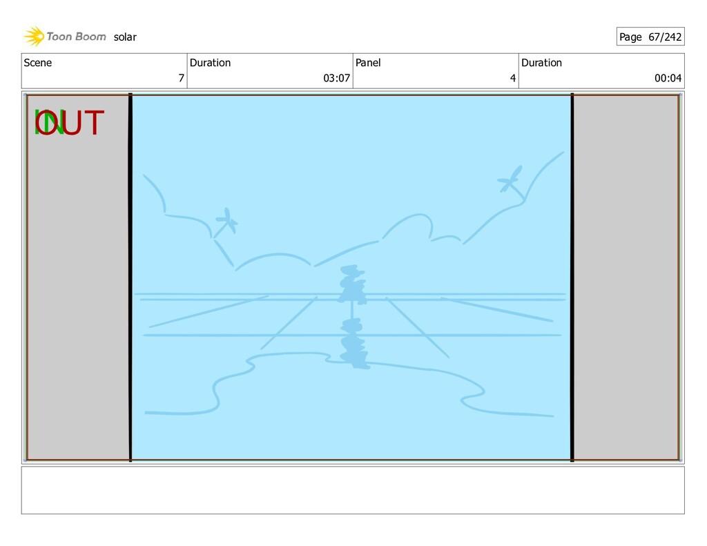 Scene 7 Duration 03:07 Panel 4 Duration 00:04 s...