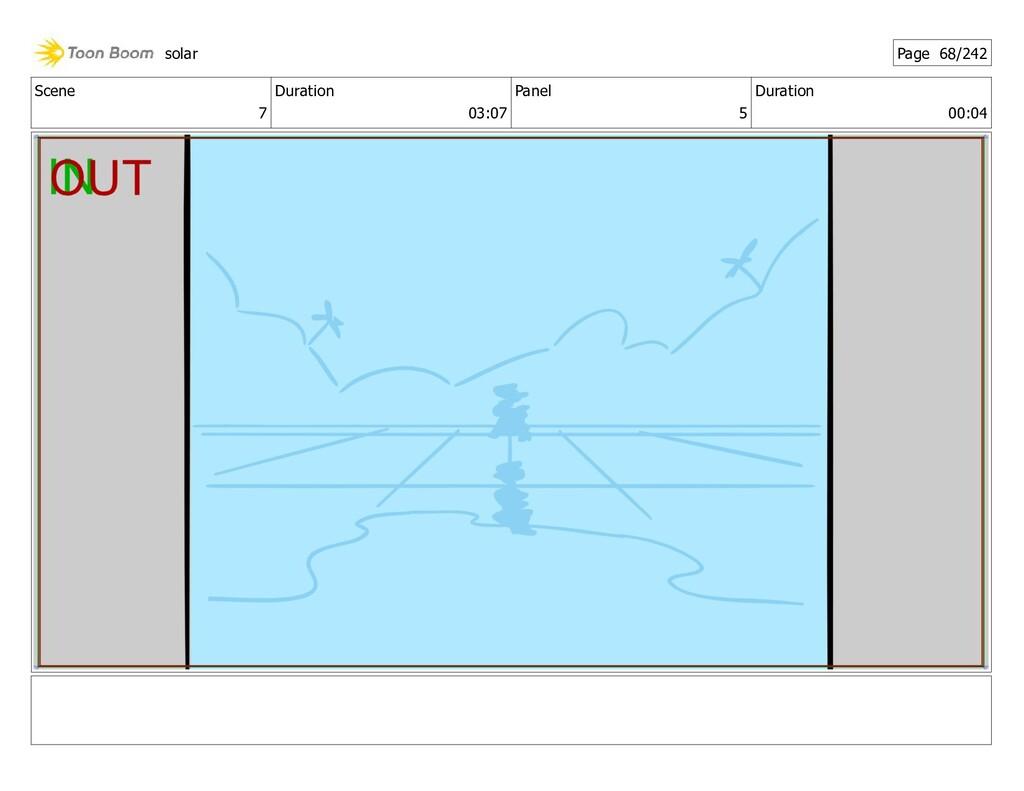 Scene 7 Duration 03:07 Panel 5 Duration 00:04 s...