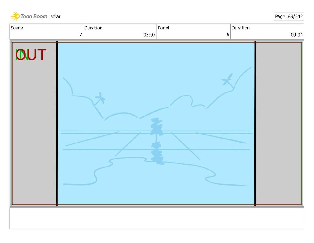 Scene 7 Duration 03:07 Panel 6 Duration 00:04 s...