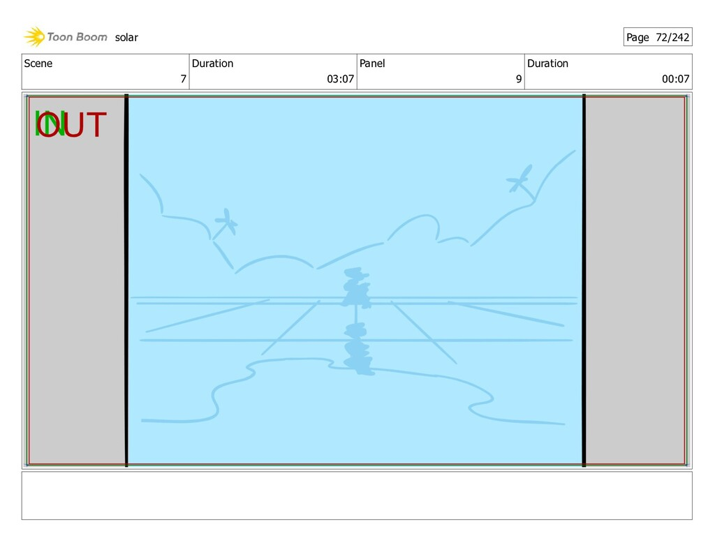 Scene 7 Duration 03:07 Panel 9 Duration 00:07 s...