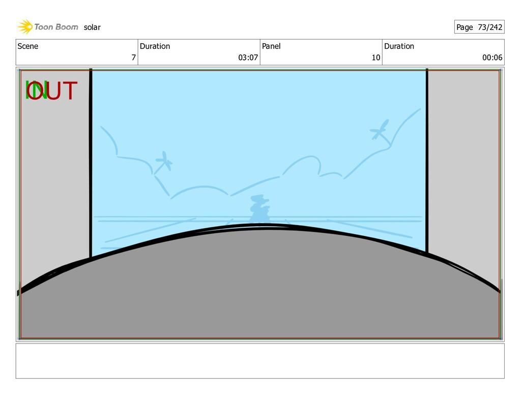 Scene 7 Duration 03:07 Panel 10 Duration 00:06 ...