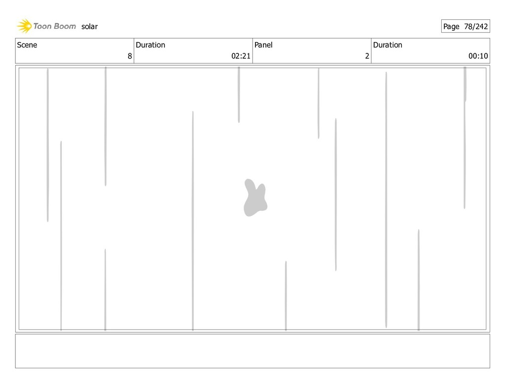 Scene 8 Duration 02:21 Panel 2 Duration 00:10 s...