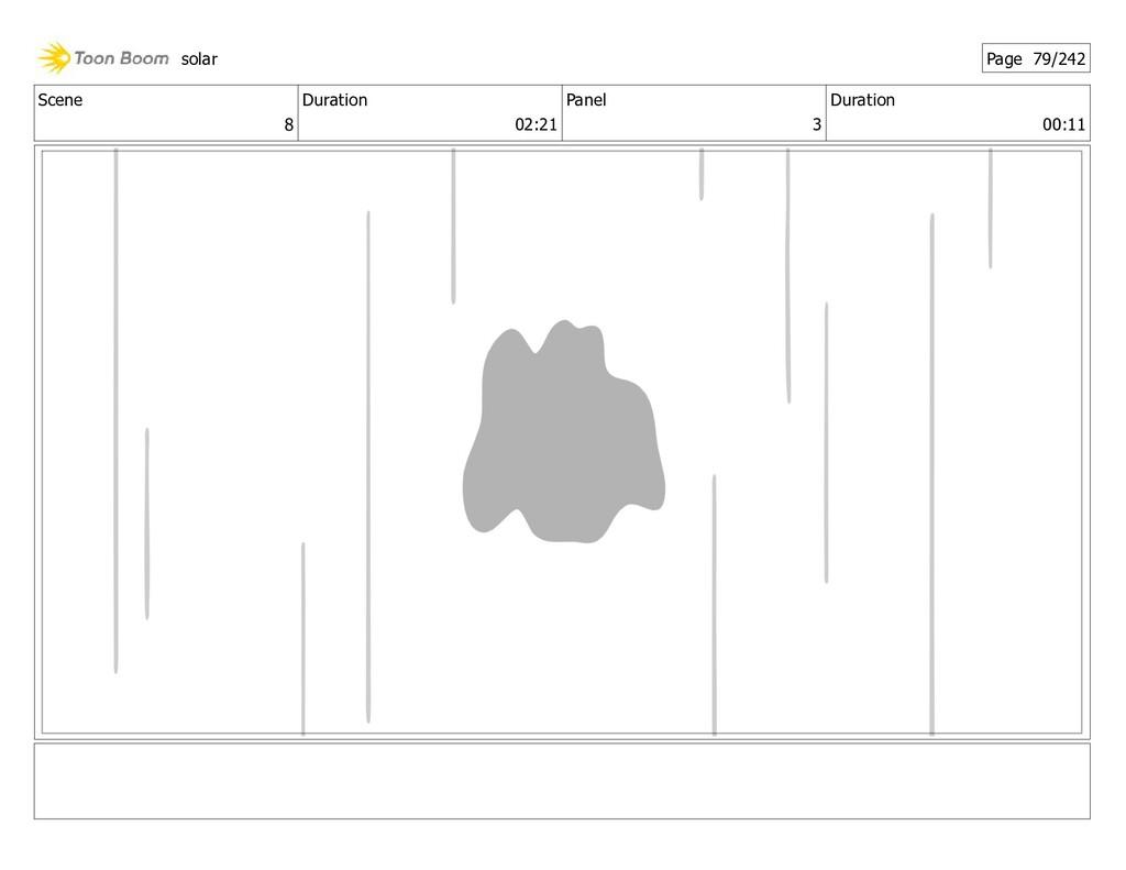 Scene 8 Duration 02:21 Panel 3 Duration 00:11 s...