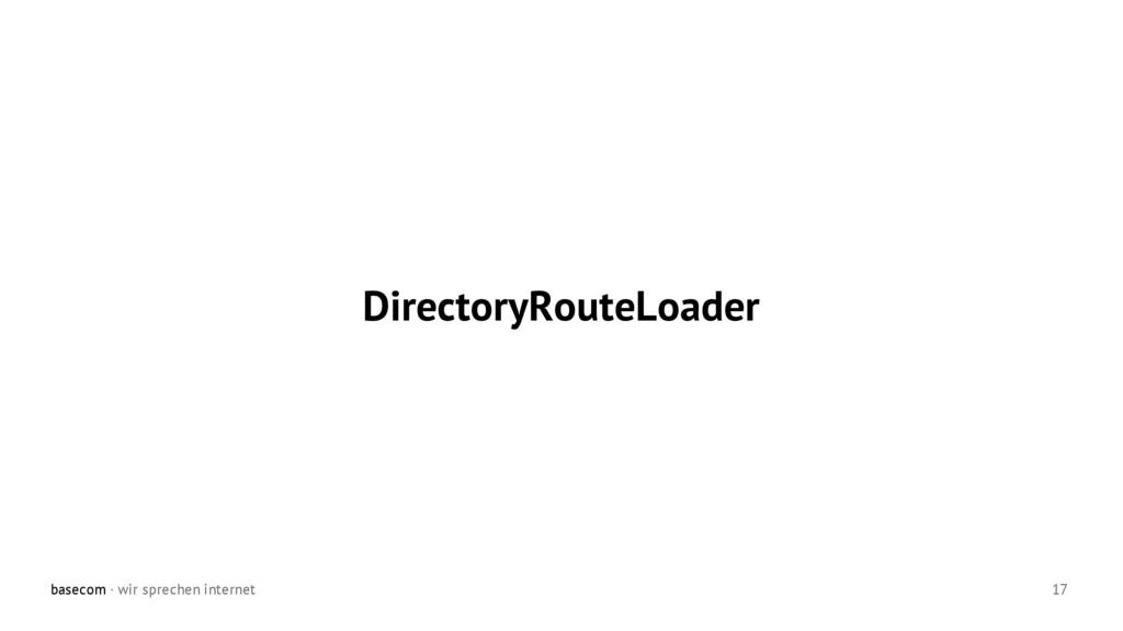 basecom · wir sprechen internet 17 DirectoryRou...