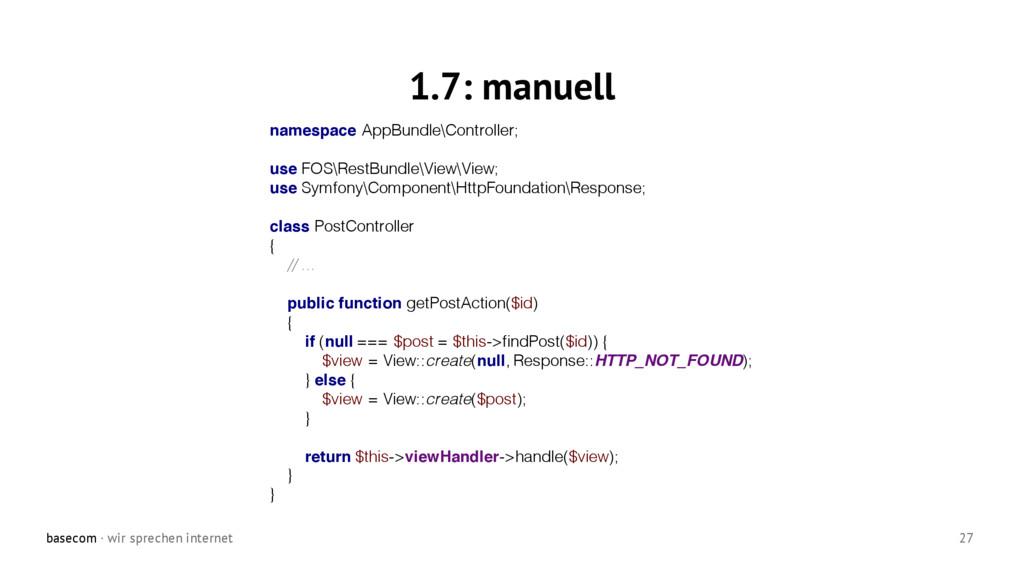 basecom · wir sprechen internet 27 1.7: manuell...