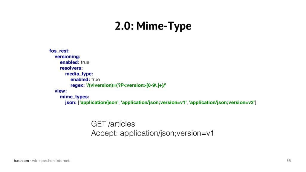 basecom · wir sprechen internet 35 2.0: Mime-Ty...