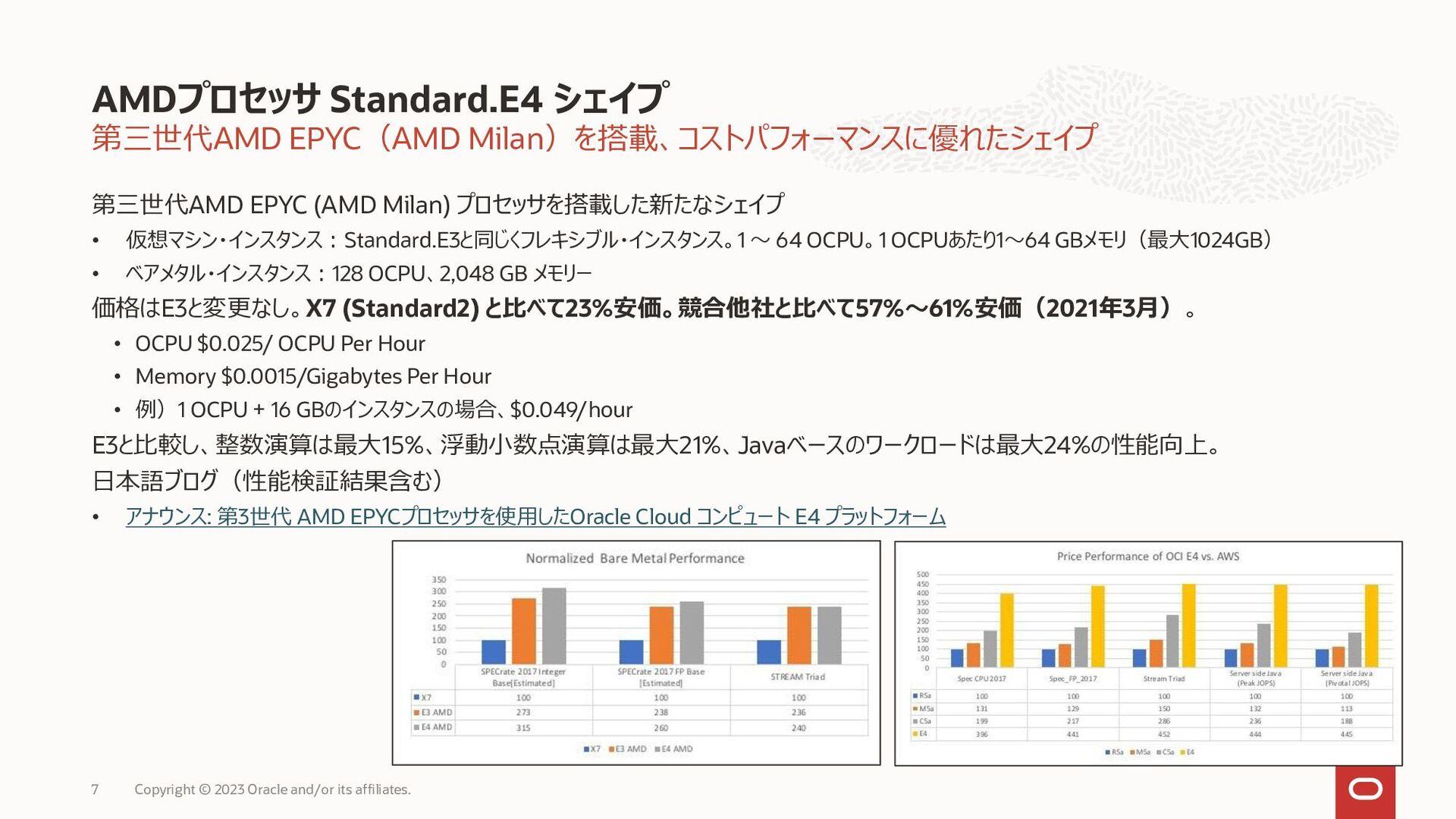 様々なワークロードに対応する標準インスタンス (Intel Xeon) コンピュート: Sta...