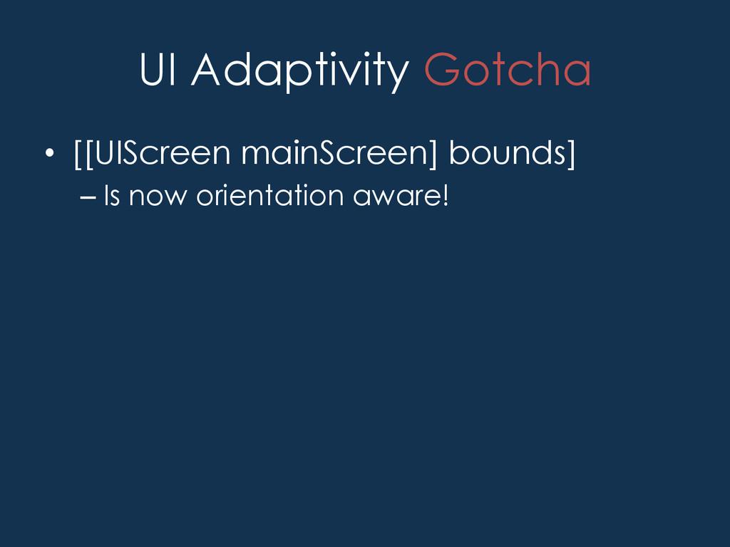 UI Adaptivity • Adaptive View Controller - UIT...