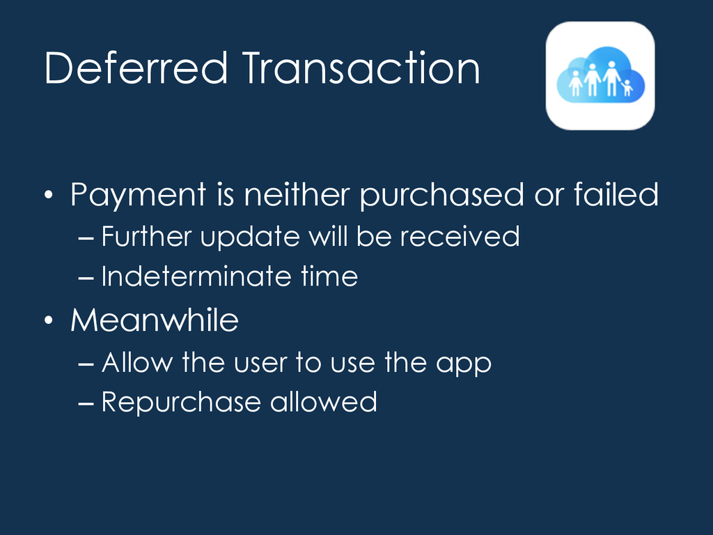In App Purchases • Ask to Buy feature of Famil...