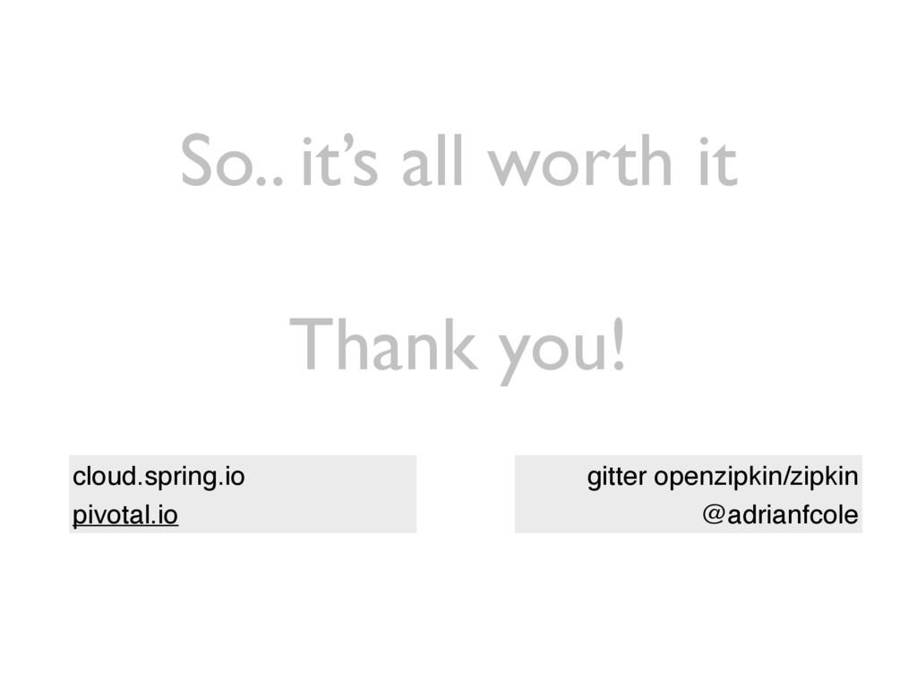 Thank you! cloud.spring.io pivotal.io gitter op...