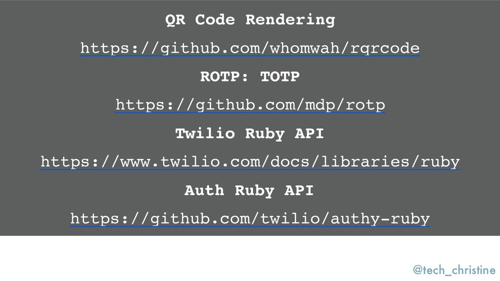 @tech_christine QR Code Rendering https://githu...