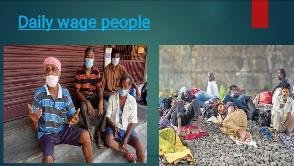 Daily wage people
