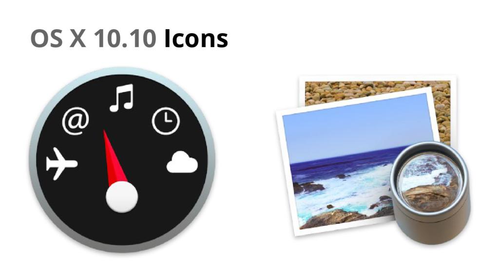 OS X 10.10 Icons