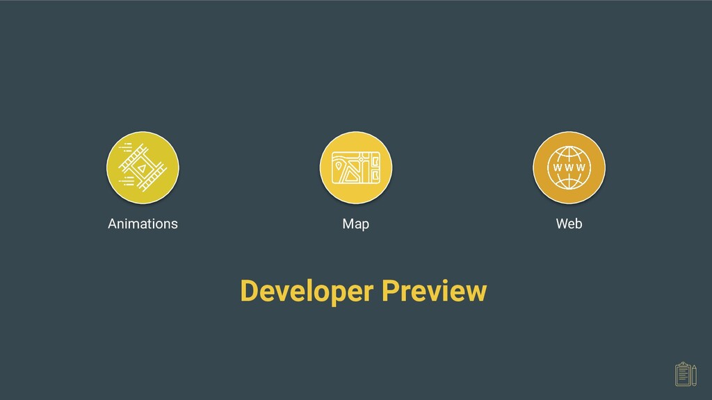 Web Map Animations Developer Preview