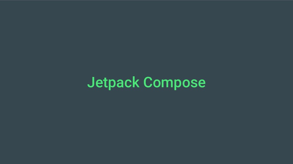 Jetpack Compose