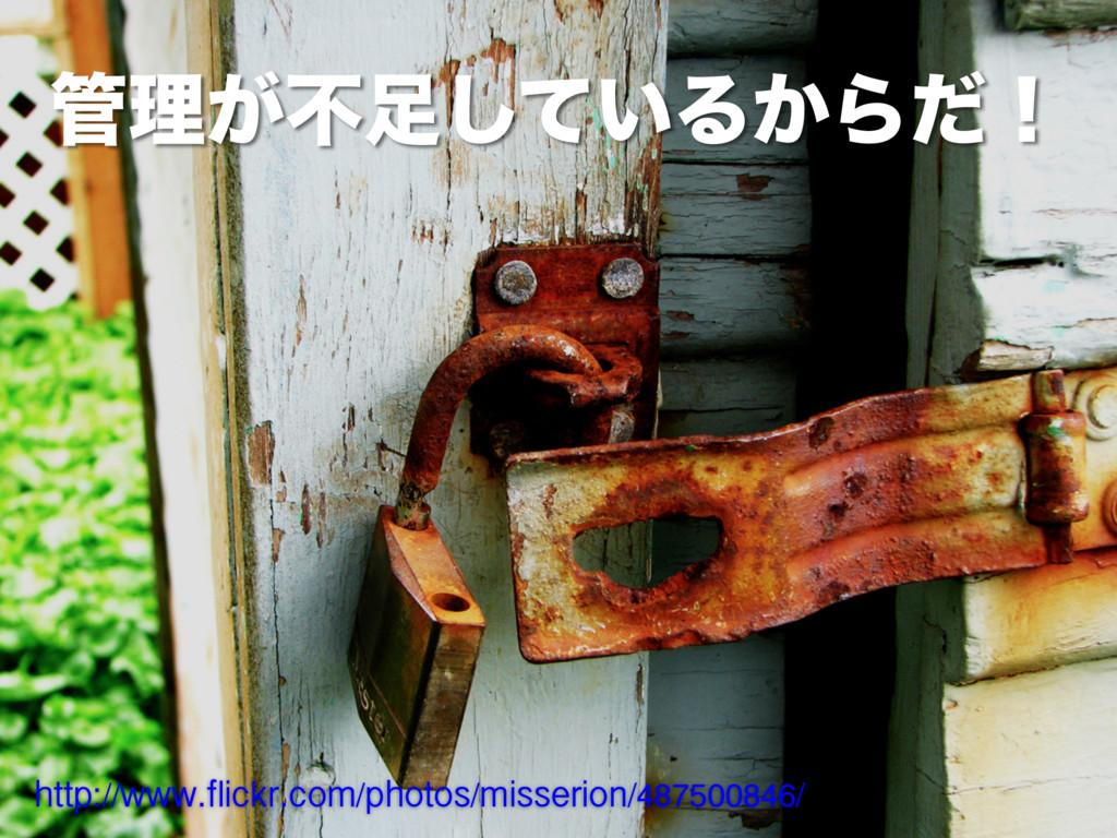 ཧ͕ෆ͍ͯ͠Δ͔Βͩʂ http://www.flickr.com/photos/miss...