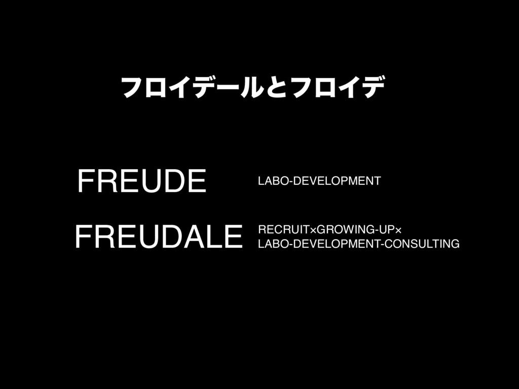 FREUDE LABO-DEVELOPMENT FREUDALE RECRUIT×GROWIN...