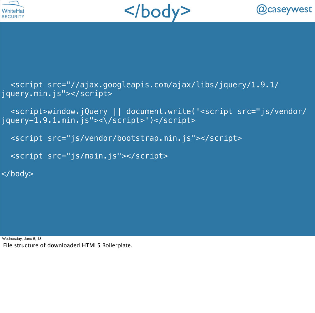 """<script src=""""//ajax.googleapis.com/ajax/libs/jq..."""