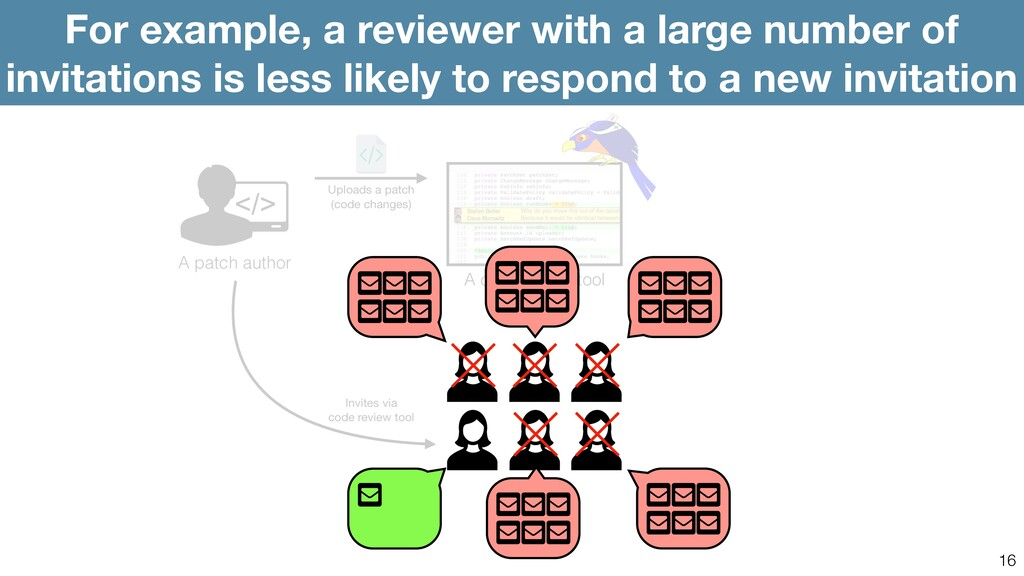 16 For example, a reviewer with a large number ...