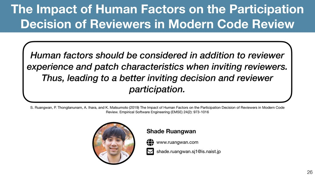 26 The Impact of Human Factors on the Participa...