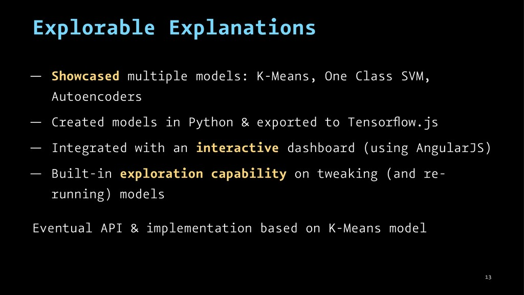 Explorable Explanations — Showcased multiple mo...