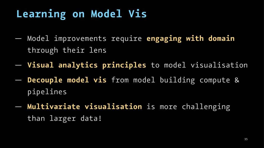 Learning on Model Vis — Model improvements requ...