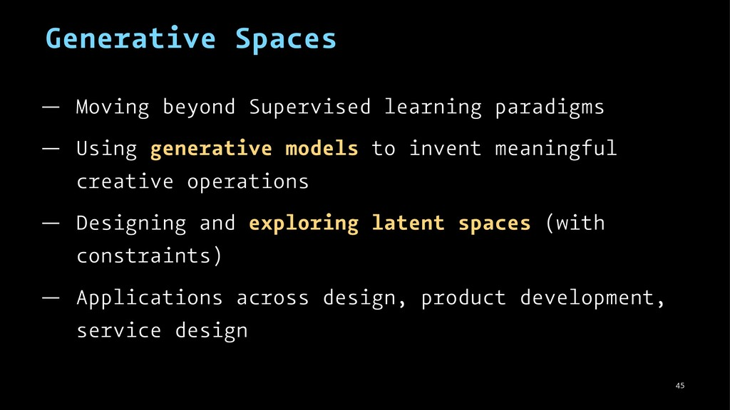 Generative Spaces — Moving beyond Supervised le...