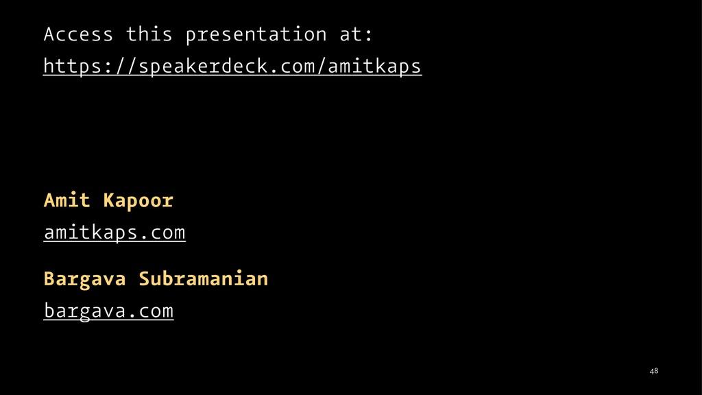 Access this presentation at: https://speakerdec...