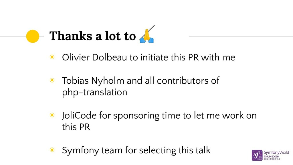 Thanks a lot to  ◉ Olivier Dolbeau to initiate ...