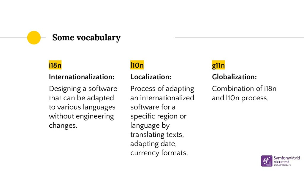 i18n Internationalization: Designing a software...