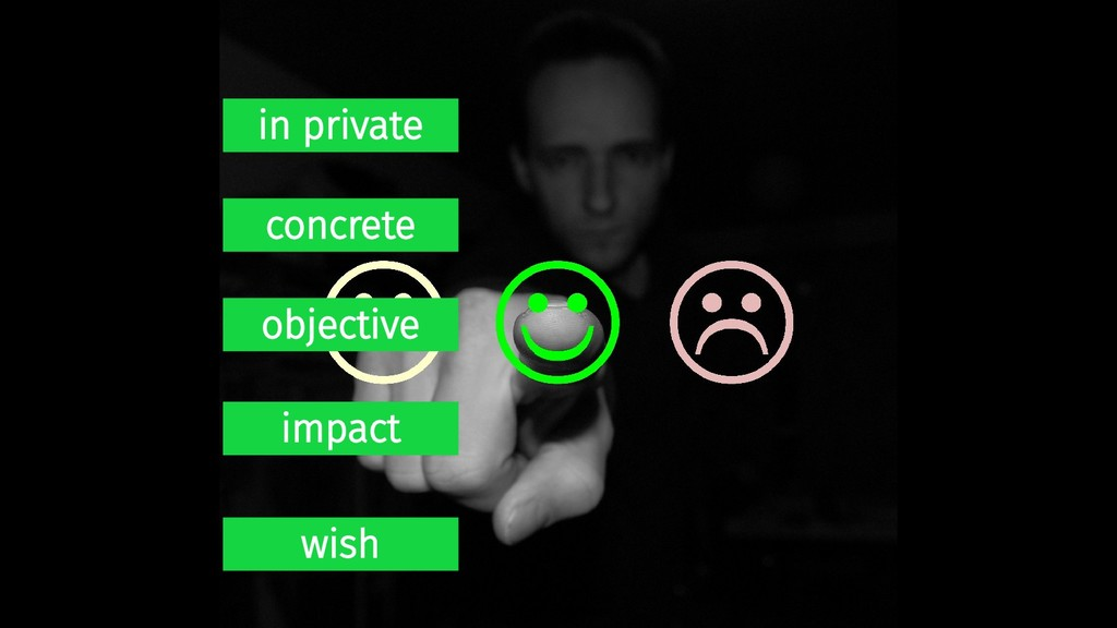 in private concrete objective impact wish