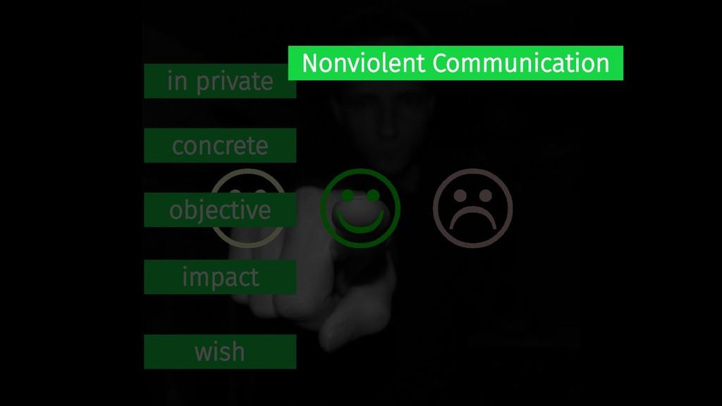 in private concrete objective impact wish Nonvi...