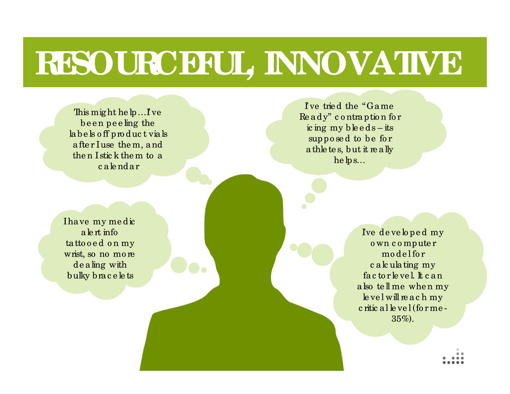 "70 RESOURCEFUL, INNOVATIVE I've tried the ""Game..."