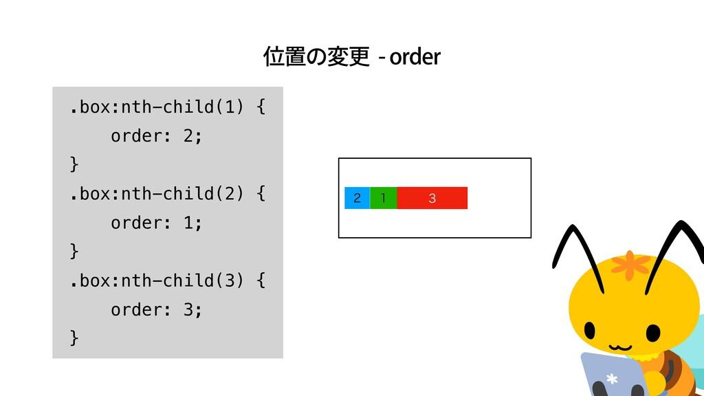 ҐஔͷมߋPSEFS    .box:nth-child(1) {   orde...