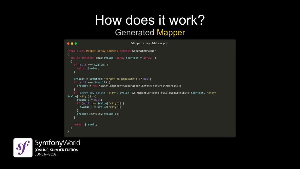 How does it work? Generated Mapper