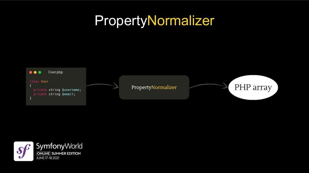 PropertyNormalizer