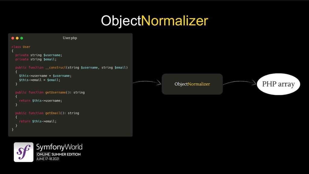ObjectNormalizer