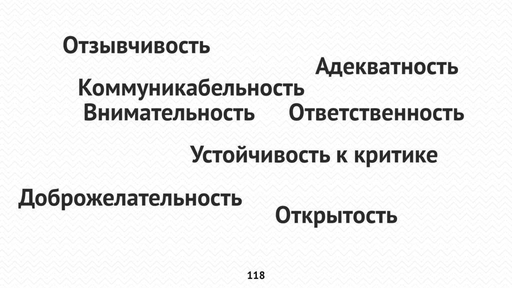Профессионализм 118 Внимательность Адекватность...