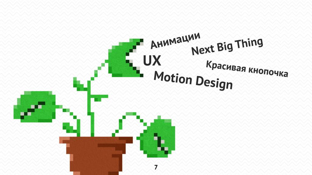7 Анимации UX Motion Design Next Big Thing Крас...
