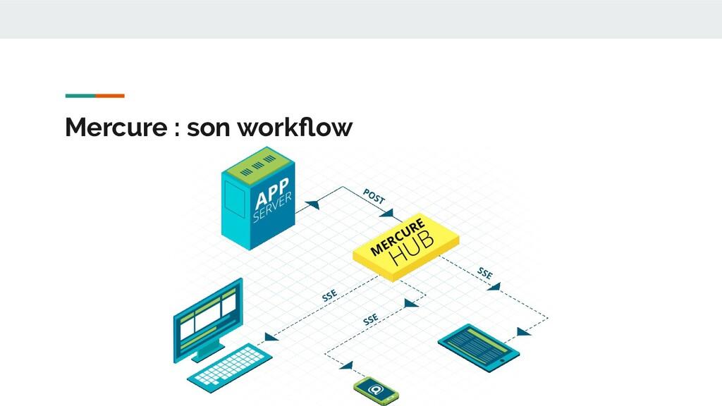 Mercure : son workflow