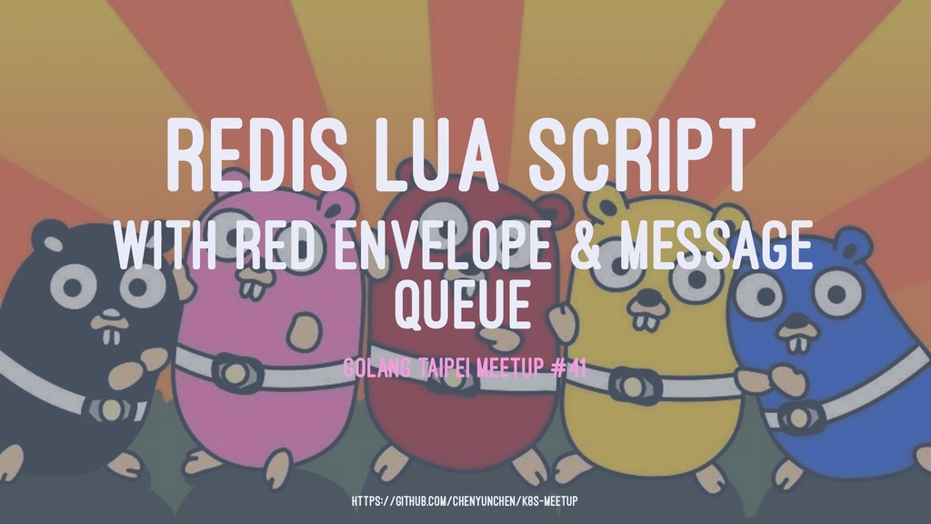 REDIS LUA SCRIPT WITH RED ENVELOPE & MESSAGE QU...