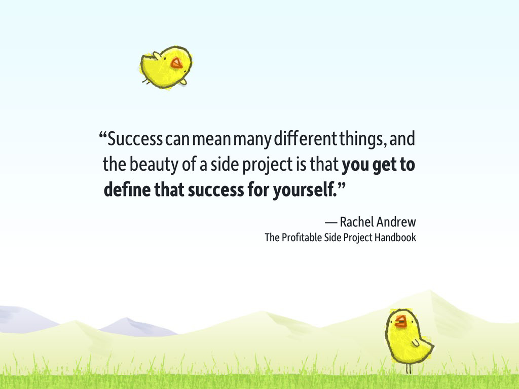 """Success can mean many different things, and th..."