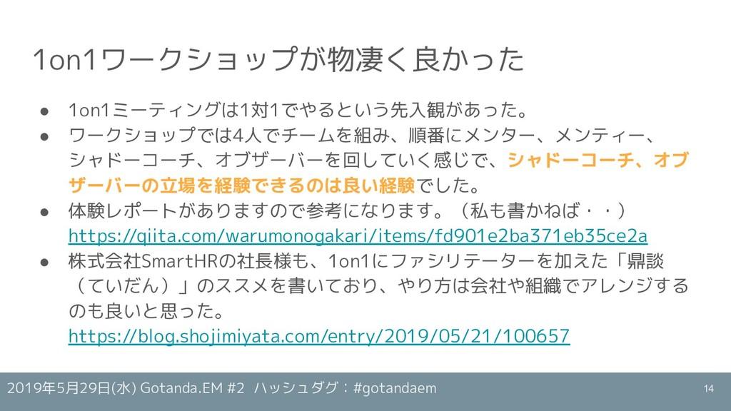 2019年5月29日(水) Gotanda.EM #2 ハッシュダグ:#gotandaem 1...