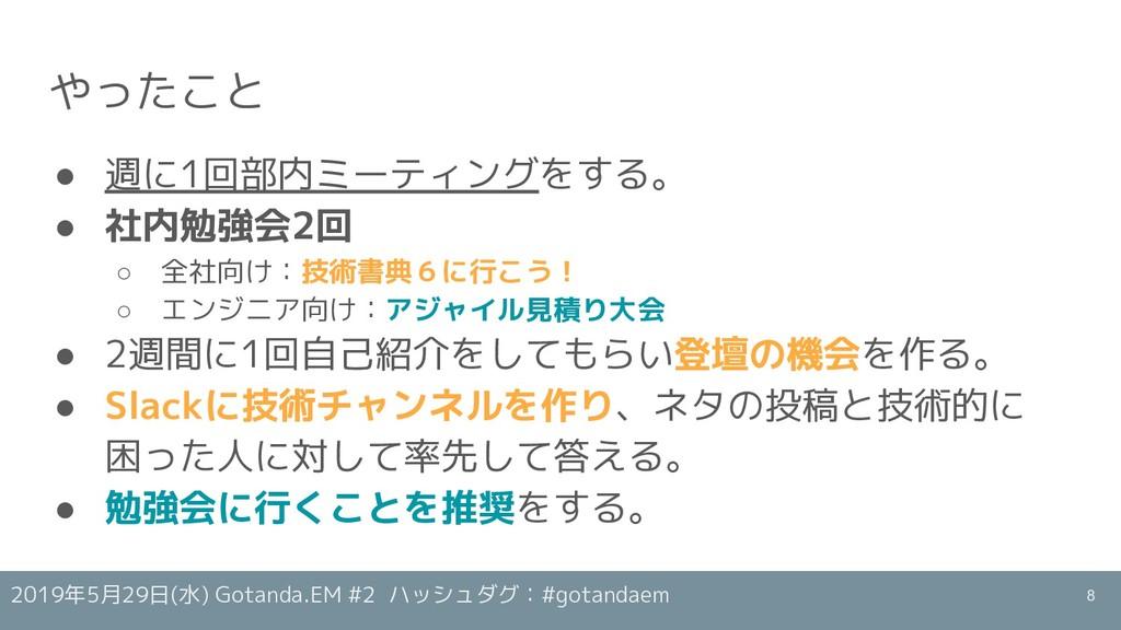 2019年5月29日(水) Gotanda.EM #2 ハッシュダグ:#gotandaem や...